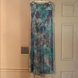 Billabong Tie-dyed Aqua & Lavender Skirt